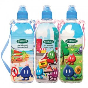 SPRITZER SPRIKY FUN PET NMINERAL WATER - 500ML